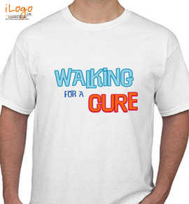 walking-for-a-cure - T-Shirt