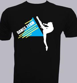 Dance-Team Men\'s T-Shirt at Best Price [Editable Design] India