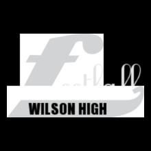 WILSON-HIGH-Football T-Shirt
