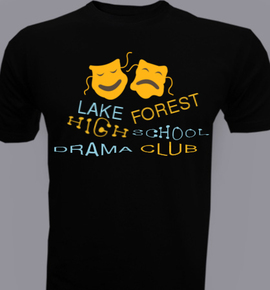 lake and forest drama - T-Shirt