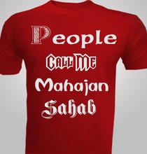 Mahajan-Sahab T-Shirt