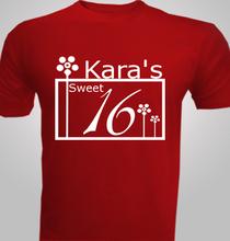 Birthday karas-sweet- T-Shirt