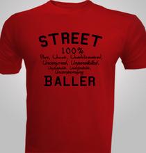 Basketball Street-Baller T-Shirt