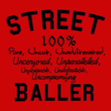 Basketball Street-Baller T-Shirt