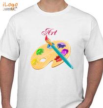 Art Art_paint T-Shirt