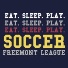 Football freemont-soccer T-Shirt
