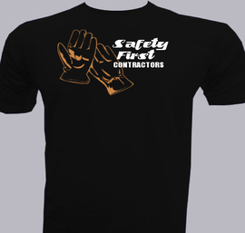 Safety-first-contractors - T-Shirt