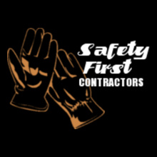 Contracting Safety-first-contractors T-Shirt