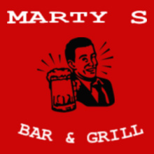 Restaurant martys T-Shirt
