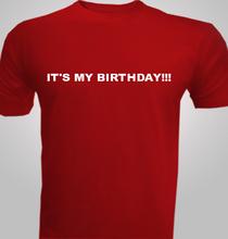 MY-BIRTHDAY T-Shirt
