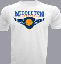 Basketball Middleton-Basketball T-Shirt