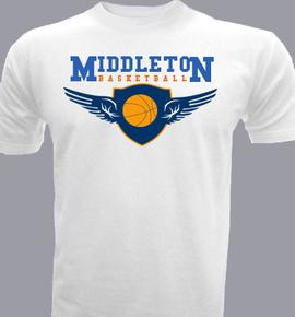 Middleton-Basketball - T-Shirt