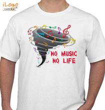 no-music-no-life T-Shirt