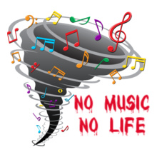 no-music-no-life T-Shirt