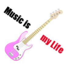 music-guitar T-Shirt