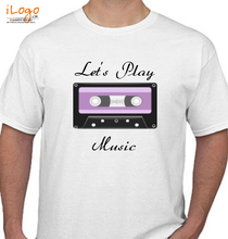 Play Music lets-play-music T-Shirt