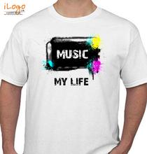 Play Music music-my-life T-Shirt