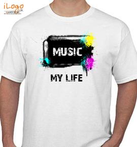 music-my-life - T-Shirt