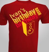 birthday-speakers T-Shirt