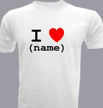 Love ilovename- T-Shirt