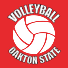 Volleyball oakton-and--volleyball- T-Shirt