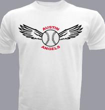 Baseball austin-angels- T-Shirt