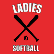 Softball ladies-softball- T-Shirt
