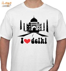 delhi - T-Shirt