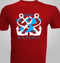 Nautical-Birthday-Party T-Shirt