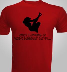 happens stay - T-Shirt