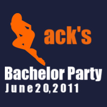zacks-bachelor-party- T-Shirt