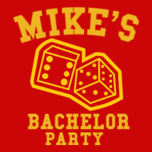Bachelor Party mike- T-Shirt