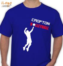 Volleyball CROFTON T-Shirt