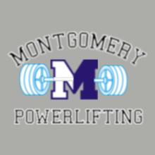 GYM  Montgomery-Powerlifting T-Shirt
