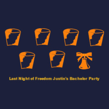 Bachelor Party Last-Night-of-Freedom T-Shirt