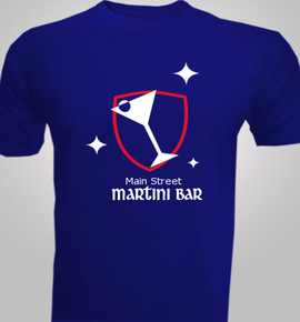 Main-St-Martini-Bar - T-Shirt