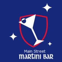 Restaurant Main-St-Martini-Bar T-Shirt