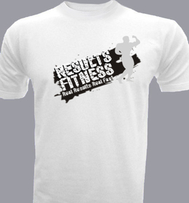 Results fitness custom men 39 s t shirt india for Gym t shirts india