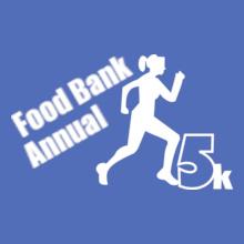 Charity run/walk annual-food-bank T-Shirt