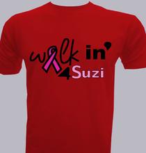 walkin-for-suzi T-Shirt