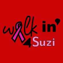 Charity run/walk walkin-for-suzi T-Shirt