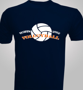Volleyball-team- Men's R/N T-Shirt at Best Price [Editable Design] India
