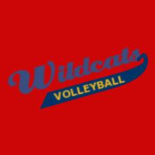 Volleyball Wildcats-Volleyball- T-Shirt