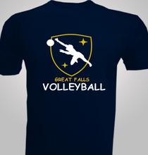 Great-Falls-Volleyball- T-Shirt