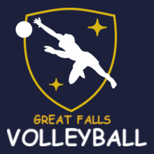 Great-Falls-Volleyball- T-Shirt