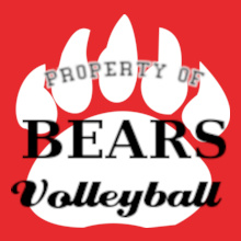 Volleyball Bears-Volleyball- T-Shirt