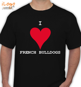 ILOVEFRENCHIES - T-Shirt