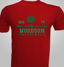 Volleyball Woodson-Volleyball- T-Shirt