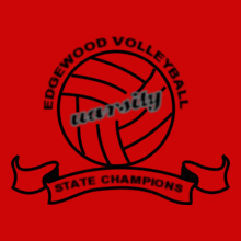Volleyball edgewood-volleyball- T-Shirt