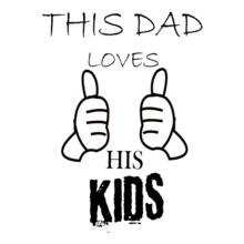 dad_loves_kids T-Shirt